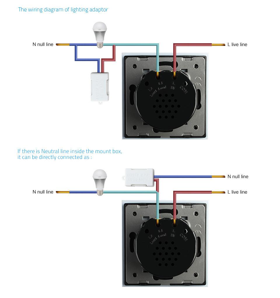 Adaptateur LED moins de 15W