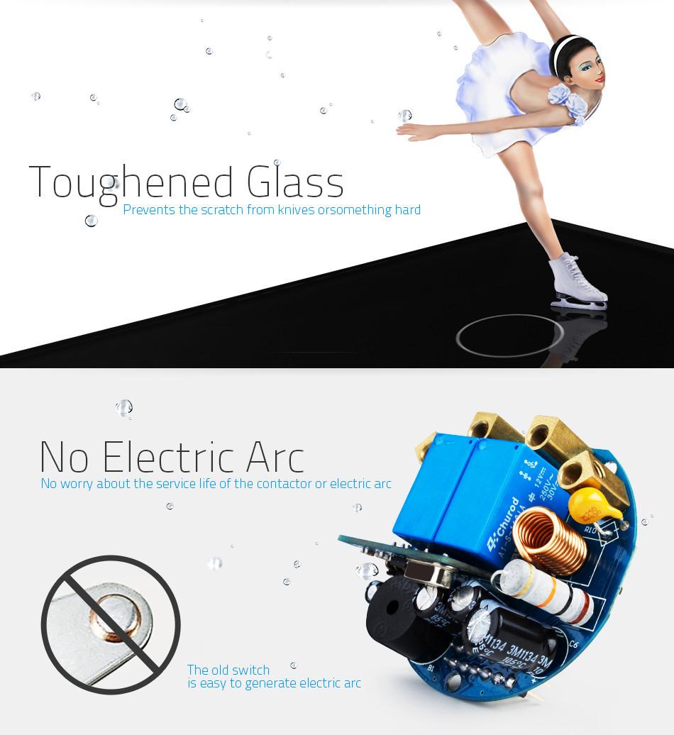 Interrupteur Electrique Mural  U00e0 Commande Tactile Blanc 2