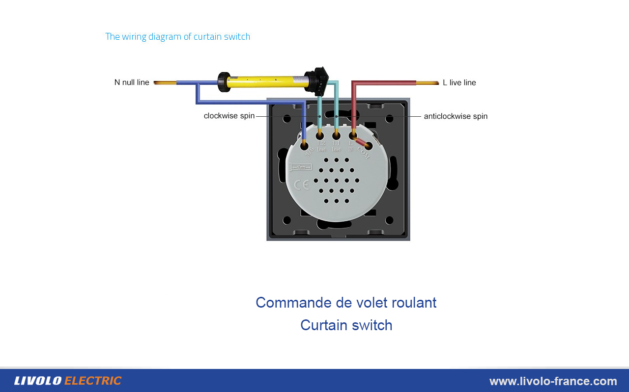 French Plug Wiring Diagram 26 Images Wiringlight On How To Wire Light Bulbs Ehow Com Media Livolo France Fr Commande Volet Roulant At