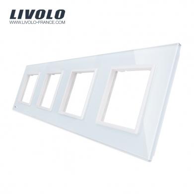 Plate triple white