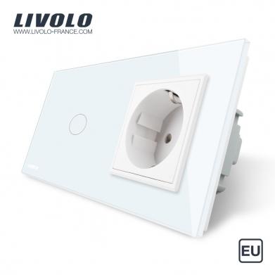 Touch Switch & EU Socket