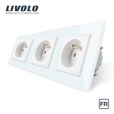 Triple Standard Power Socket Fr