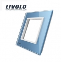 Plaque 1 prise - Livolo