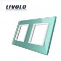 Plaque 2 prises - Livolo