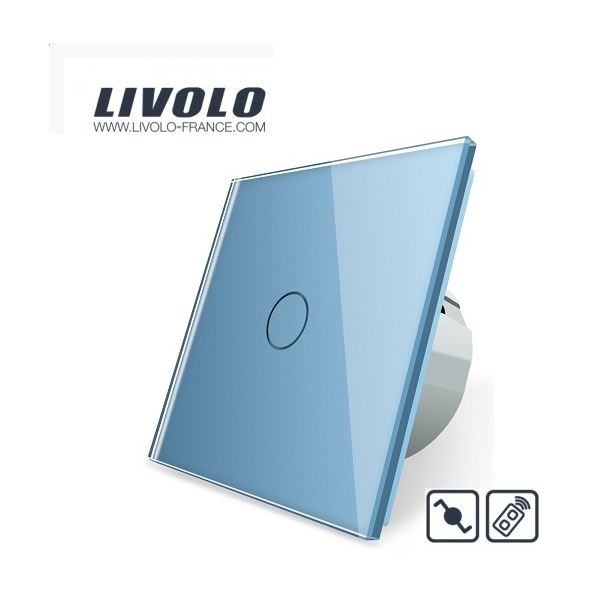 Livolo vie intérieure TV Boîte fernseherdose Antennendose vl-c7-1v-15 Gris